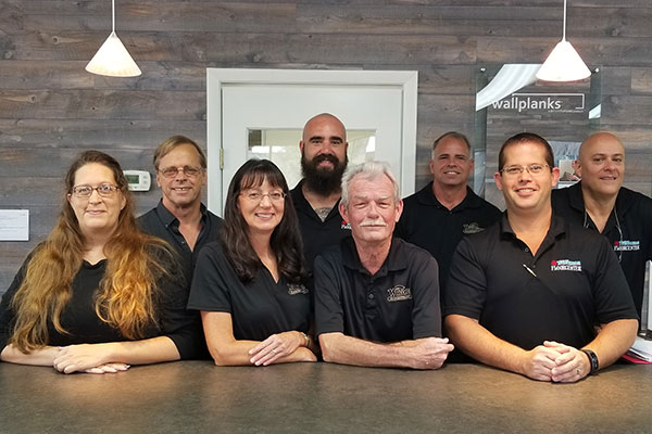 We have a great staff that is eager to help find the right flooring for you!